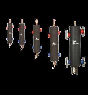 Hydraulische Weiche mit dem magnetischen Separator